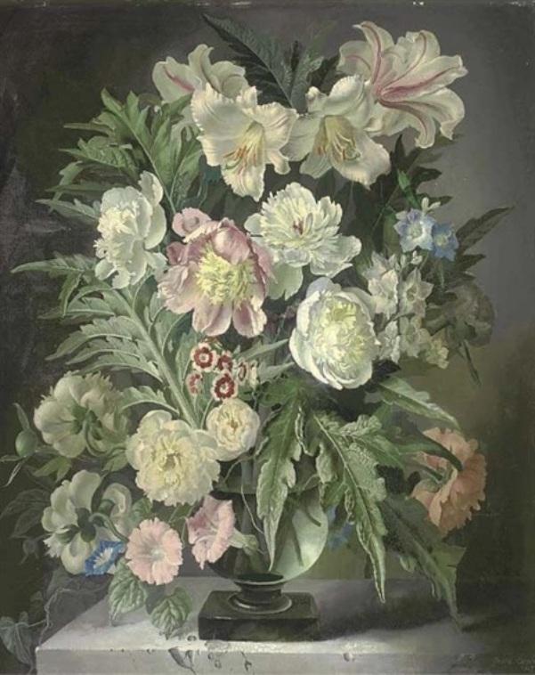 Листья и цветы, 1947