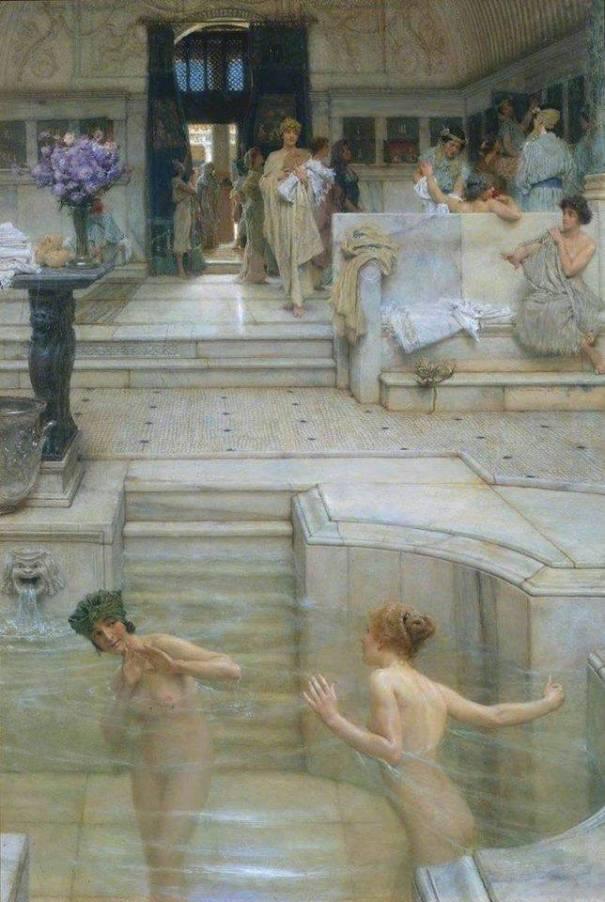 Любимый отдых, 1909. Лоуренс Альма Тадема (брит., 1836-1912). Британская галерея Тейт, Лондон