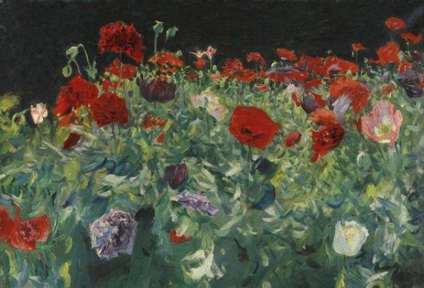 Маки, 1886. Джон Сингер Сарджент (англ. John Singer Sargent, 1856-1925), американский художник