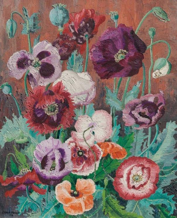 Маки. Седрик Моррис (1889-1982), британский художник