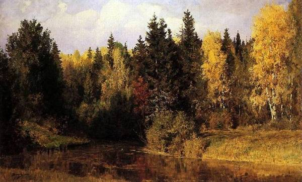 Осень в Абрамцево, 1890. Василий Дмитриевич Поленов (1844-1927)