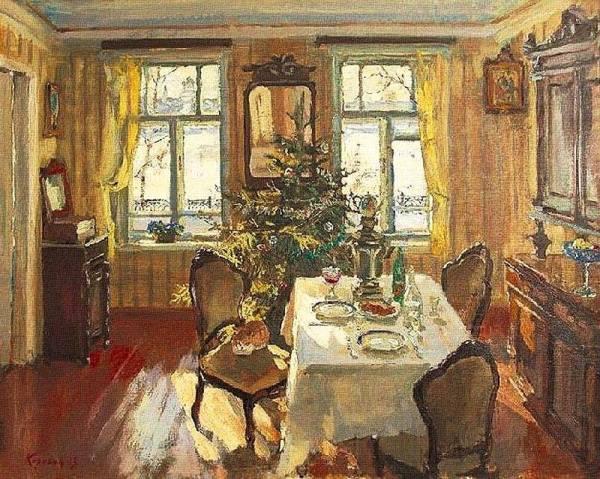 Рождество. Сергей Михайлович Коровин, живописец, педагог (род. в 1957 году в Ярославле).