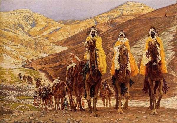 Путешествие волхвов. 1894. Джеймс Тиссо (англ. James Tissot; 1836-1902), французский художник, работал в Англии.