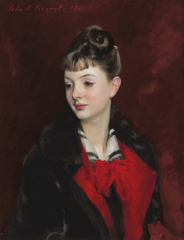 Мадемуазель Сюзанна Пуарсон, 1884. Джон Сингер Сарджент (1856-1925), американcкий художник