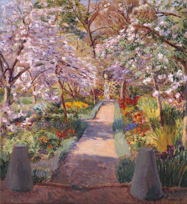 Garden Path in Spring 1944 Duncan Grant 1885-1978 Presented by the Friends of the Tate Gallery, Helena and Kenneth Levy Bequest 1990 http://www.tate.org.uk/art/work/T05757
