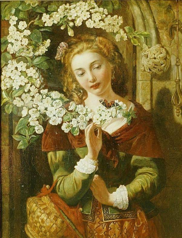 Цветение. Дэниел Маклайз, или Маклис (1806-1870), ирландский и английский художник-
