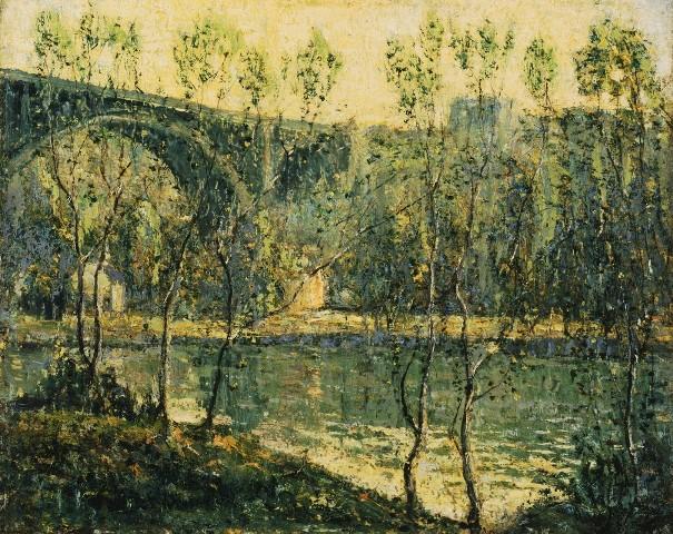 Весеннее утро. Эрнест Лоусон (1873-1939), американcкий художник
