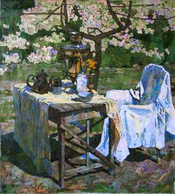 Весна. Денис Саражин (род. 1982 г. в Никополе, Украина).