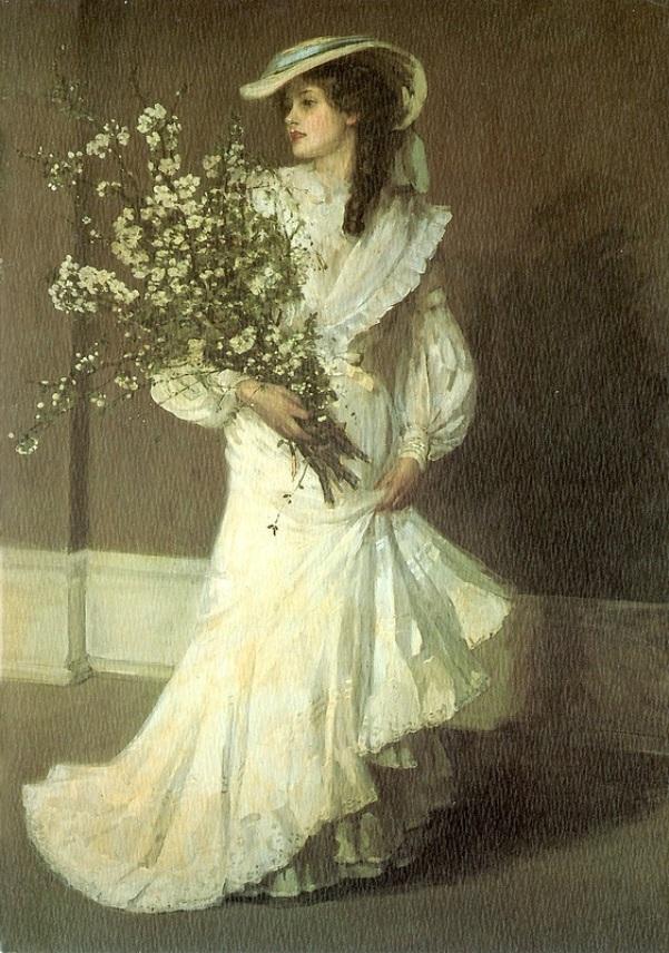 Весна. Джон Лавери (1856-1941), ирландский художник