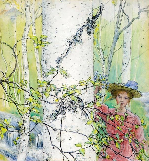 Весна, 1902. Карл Улоф Ларссон (1853-1919) , шведский художник
