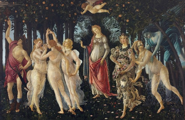 Весна, 1482. Сандро Боттичеллию Галерея Уффици (Флоренция).