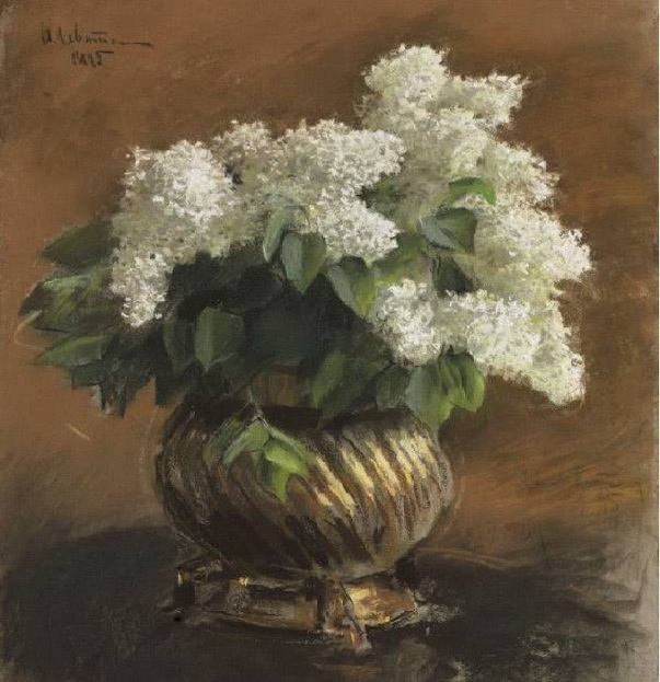 Белая сирень, 1895. Исаак Ильич Левитан (1860-1900), русский художник