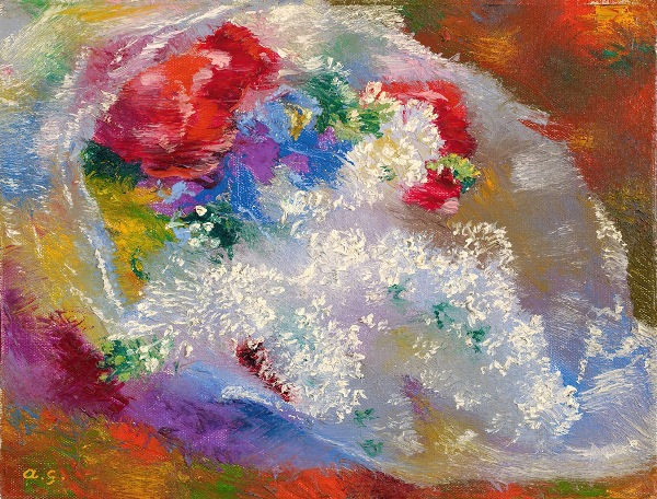 Lilac, 1933. Augusto Giacometti (Swiss, 1877-1947)