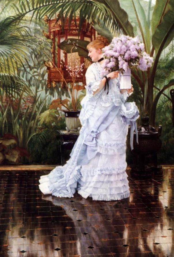 Сирень. Джеймс Тиссо (англ. James Tissot, 1836-1902), французский художник