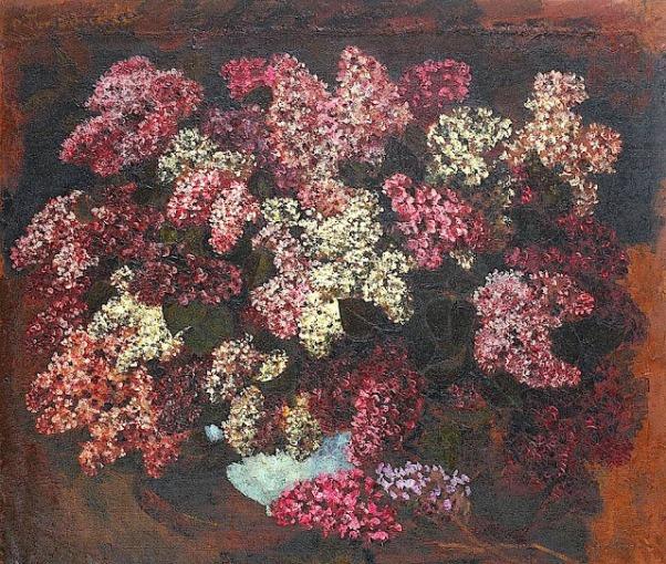 Сирень. Октав Бэнчилэ (1872-1944), румынский художник