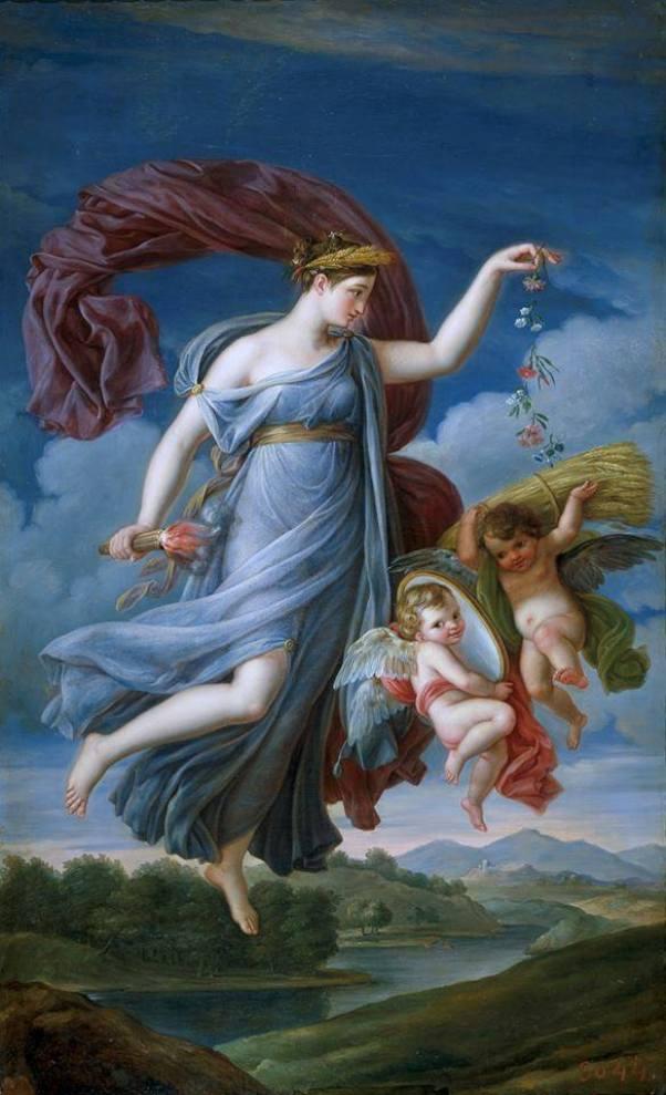 Аллегория лета. 1819. Жуан Антонио де Рибера (Juan Antonio Ribera, 1779-1860), испанский художник. Музей Прадо, Мадрид