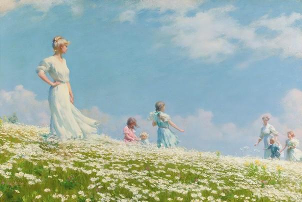 Лето, 1906. Чарльз Кортни Карран (1861-1942), американский художник