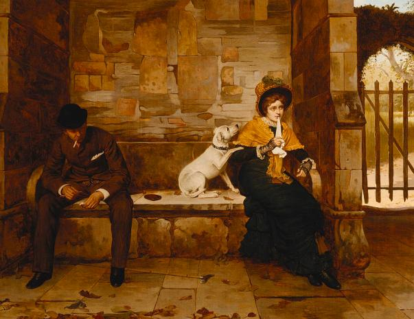 Миротворец, 1882. Холст, масло. Эдвин Хьюз (Edwin Hughes, 1872–1892), британский художник