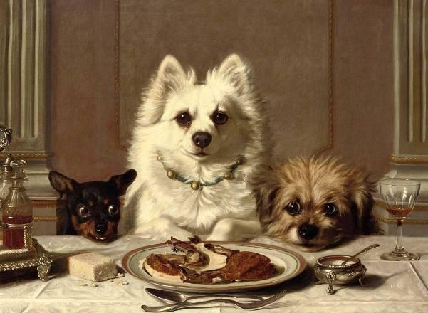 Образцовое поведение. Холст, масло. Горацио Генри Кулдри (1832-1893), английский художник