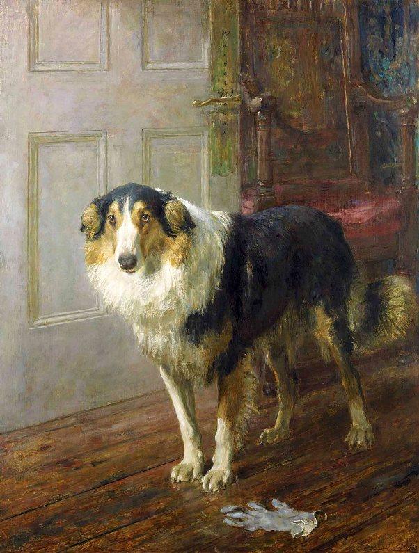 Перчатка. Брайтон Ривьер (1840–1920), английский художник-анималист