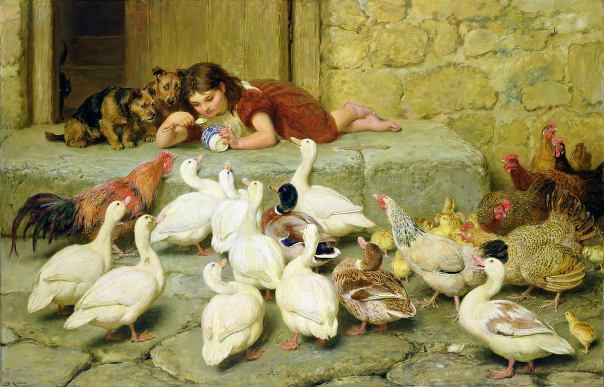 Последняя ложка, 1880. Брайтон Ривьер