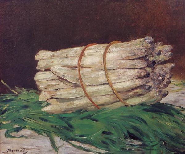 Натюрморт со спаржей. Эдуард Мане (фр. Édouard Manet; 1832-1883), французский живописец