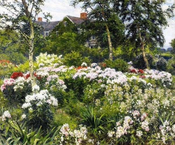 Сад. Гейнс Ругер Донохо (Gaines Ruger Donoho, 1857-1916), американский художник