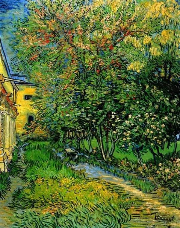 Сад больницы Святого Павла, 1889. Холст, масло. Винсент Ван Гог (1853-1890), голландский художник. Музей Крёллер-Мюллера, Оттерло, Нидерланды