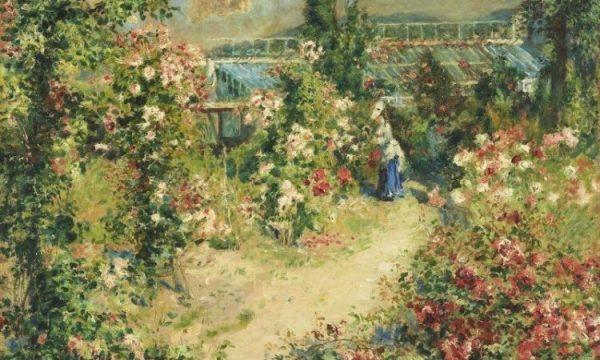 Теплица, 1876. Пьер Огюст Ренуар (1841-1919), французский живописец