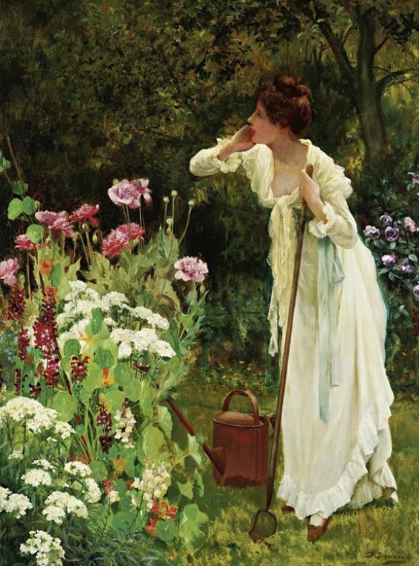 В разгар лета. Делапур Даунинг (1853–1926), английский художник