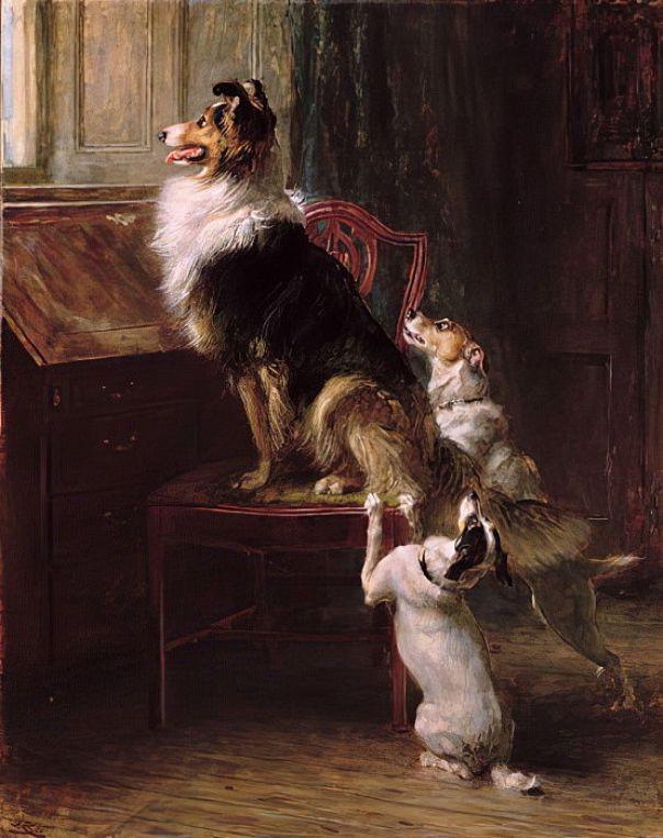 Зарезервированное место, 1901. Брайтон Ривьер (1840–1920), английский художник-анималист