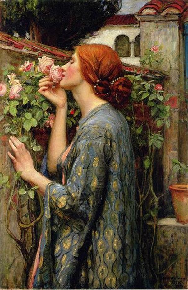 Душа розы, 1903. Джон Уильям Уотерхаус (1849-1917), английский художник. Частная коллекция
