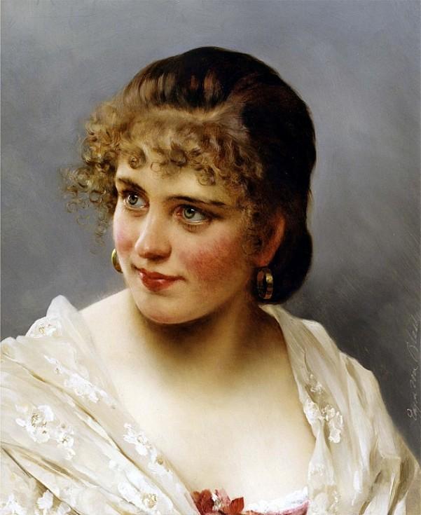 Невинность. Эжен де Блаас (1843-1931), итальянский художник