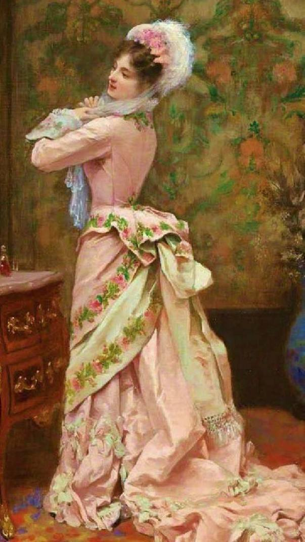 Toilette. Жюль Джеймс Ружерон (1841 - 1880), французский художник