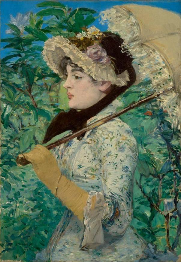Жанна. Весна, 1881. Эдуард Мане (1832-1883)