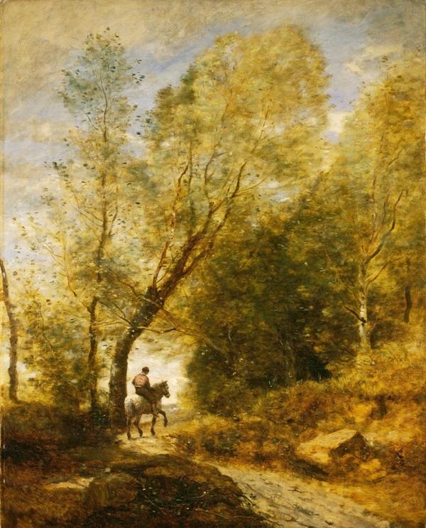 Лес Куброна, 1872. Холст, масло. Жан-Батист Камиль Коро (1796-1875), французский художник