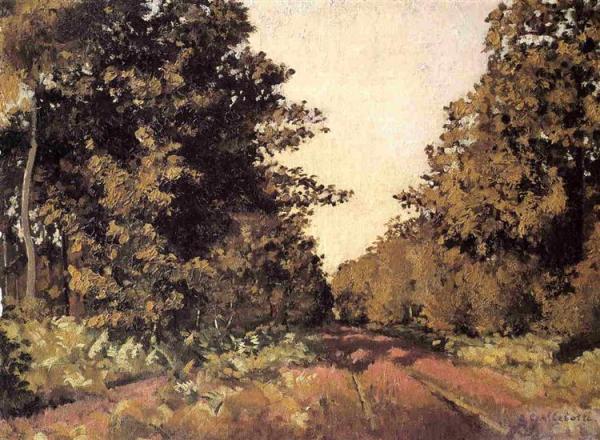 Йерр, лес в Ла-Гранж. 1874-1879. Гюстав Кайботт