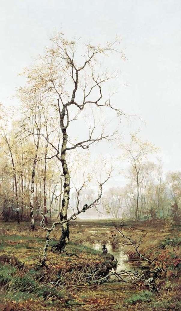 В лесу по весне, 1877. Ефим Волков