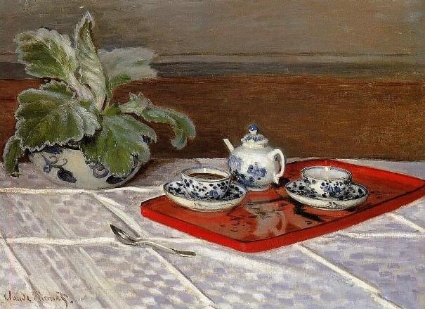 Чайный набор, 1872. Клод Моне